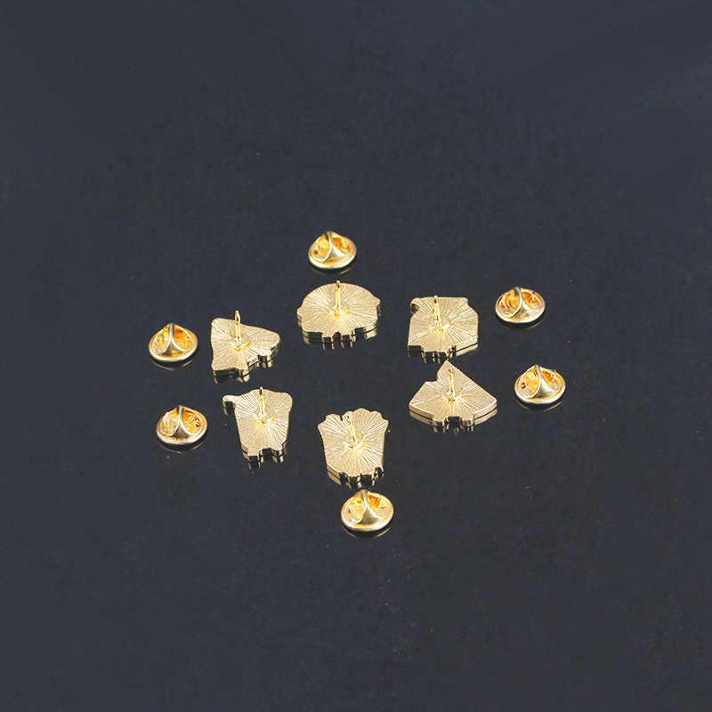 Tafree Lucu Kartun Bros Hamburger Cola Bahasa Perancis Goreng Susu Pizza Semangka Kerah Pin Lingkungan Alloy Lencana Perhiasan 462