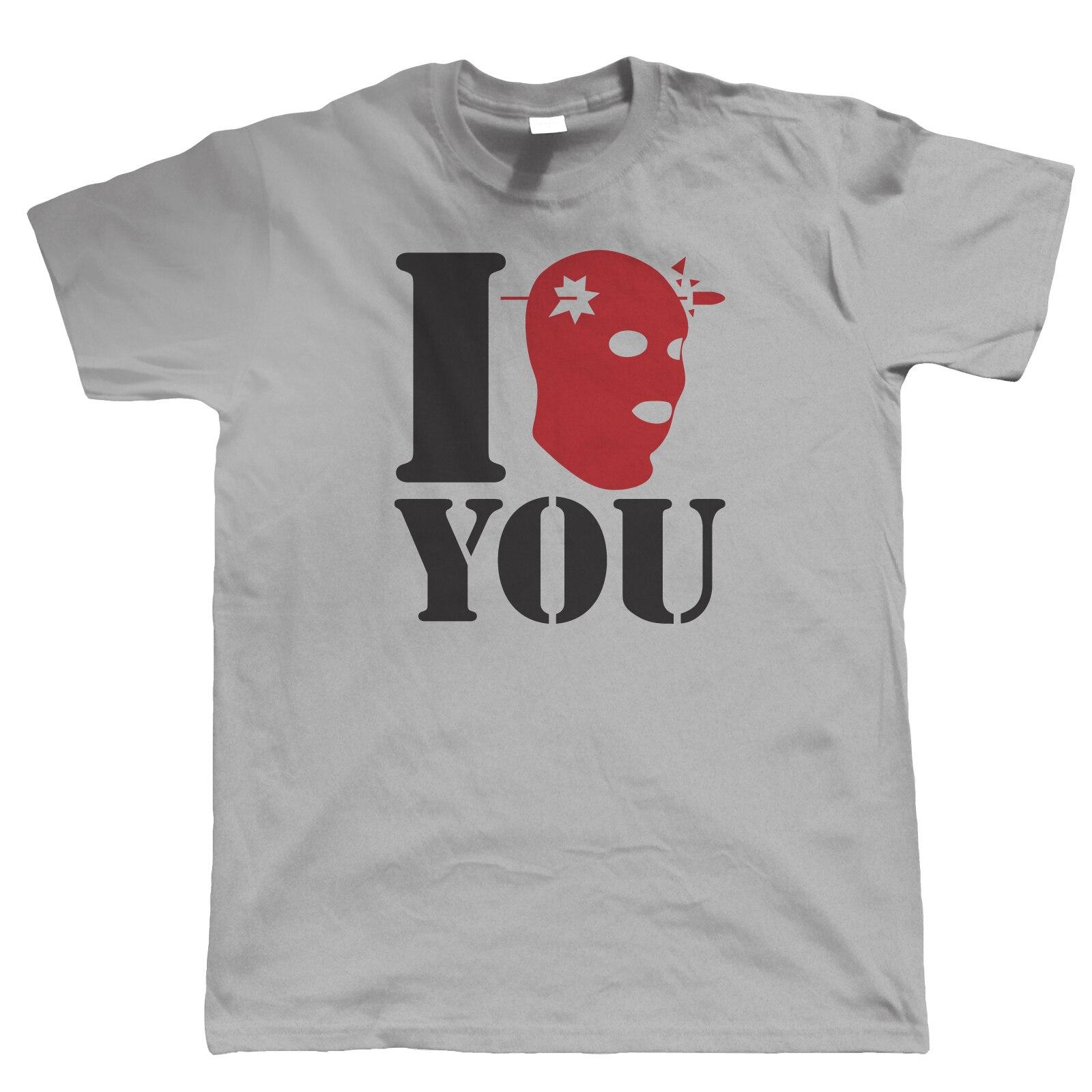 I Headshot You Mens Gamer T Shirt - Counter Terrorist FPS Video Game Strike Hip Hop Novelty T-Shirts MenS Brand Clothing