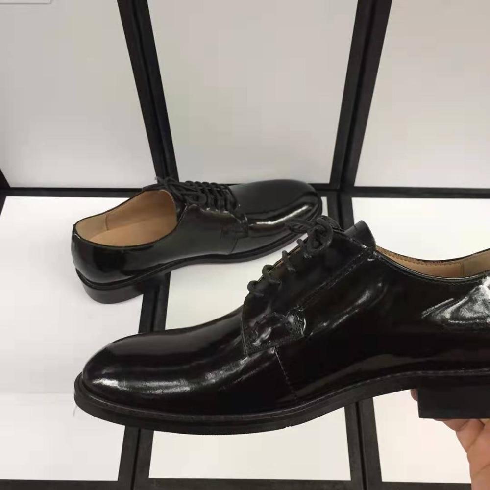 Mocassin En Peau Appartements Anglais Chaussures 1 Mouton La Penny Main Slip Cuir Grande Mocassins Taille À Mode Pointu Sur De 2 Marque Femmes Véritable Bout rxXXq0pY