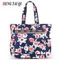 Дизайнер сумок высокого качества нейлон дамы сумки на ремне женщины сумка печати женские сумки большой емкости новый большой 1