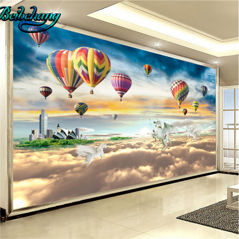 Beibehang cu paraso celestial nuvens acima do pas das fadas do beibehang cu paraso celestial nuvens acima do pas das fadas do nascer do sol tv pano de fundo papel de parede personalizado murais em papis de parede de thecheapjerseys Choice Image