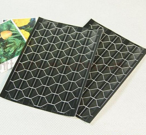 Купить с кэшбэком 1pack/lot Multifunction Funny Vintage White Black Transparent Series DIY PVC Picture Conner Sticker Decoration Office Supplies