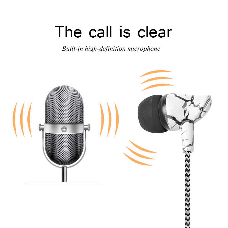 3.5 ミリメートルスポーツ亀裂イヤホンで耳有線イヤホン 3.5 ミリメートル重低音の音質音楽スポーツゲーミングヘッドセットマイクため MP3 MP4