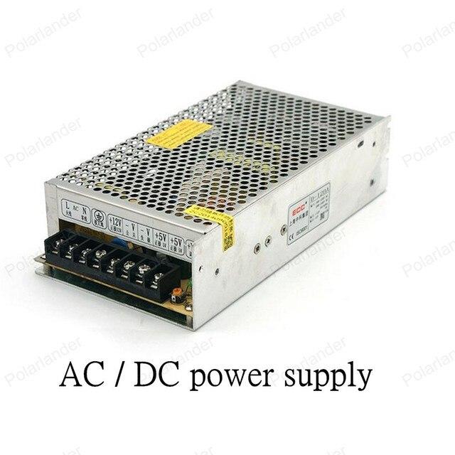 Питания AC/DC 12V120W двойной выход блок питания ac dc преобразователь регулятор переменное напряжение постоянного тока Трансформаторы Освещения