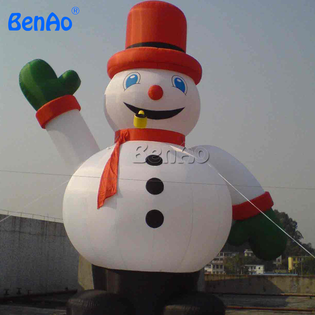 x061 10mh 33 huge commercial airblown inflatable snowman christmas yard art decoration 1 ce