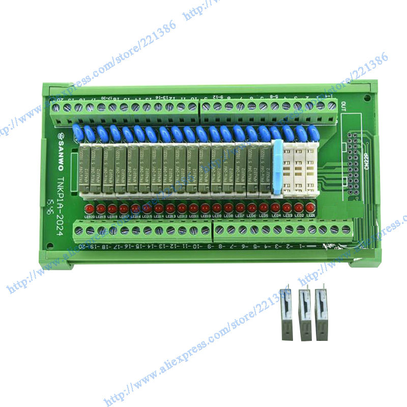 20 channels 5V 5A Pa1a relay Module driver board output amplifier
