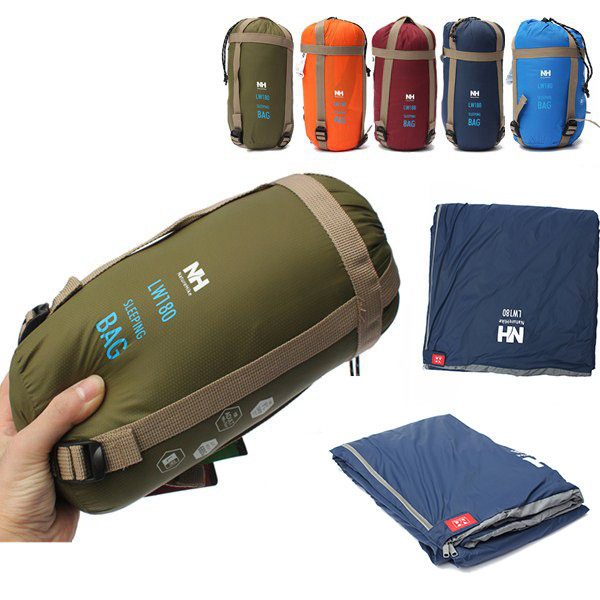 Nouveau Camping en plein air sac de couchage enveloppe léger Portable étanche confort avec sac de Compression Camping randonnée