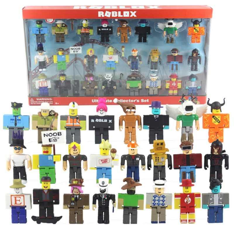 Conjuntos 16 Roblox Figura jugetes Robloxs 7 centímetros Jogo PVC Figuras Meninos Brinquedos para roblox-jogo