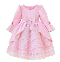 Baby Girls Princess Birthday Baptism Party Gown Dresses For Kids Girls Baby Christmas Party