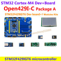 STM32 Development Board STM32F429IGT6 STM32F429 ARM Cortex M4 STM32 Board(1024KB Flash) + 7 Module Kits = Open429I-C Package A