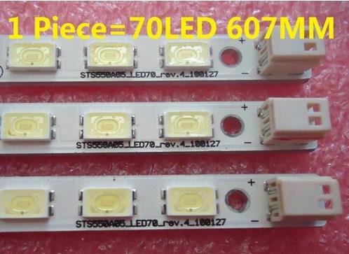1 Piece 55TF1 LJ64-02220A LJ64-02219A LTA550HJ03 LED Strip STS550A05_LED70_rev.4_100127 70 LED 618MM