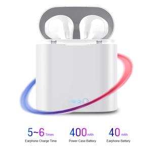 Image 4 - I7s TWS Mini écouteurs sans fil Sport Bluetooth écouteurs avec boîtier de charge micro stéréo Android casque pour iPhone Xiaomi