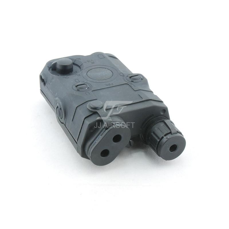 ACI PEQ 15 Battery Case w Red Laser (Black)