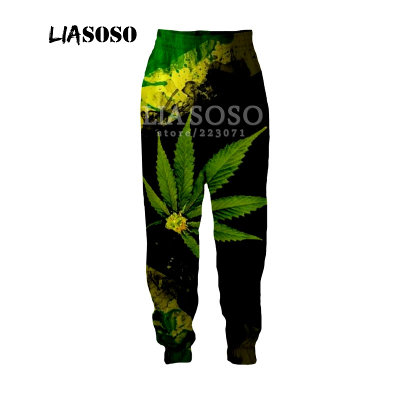 LIASOSO Autumn New Men Women Fashion Pants 3D Print Singer Bob Marley Trousers Casual Fitness Loose Hip Hop Men Trousers B188-11