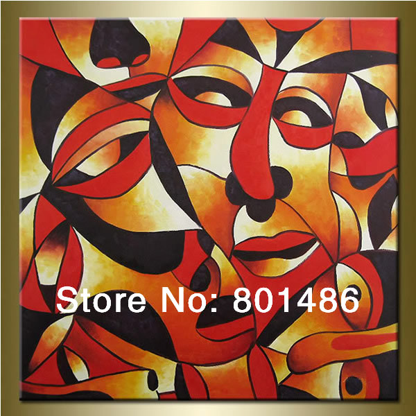 Compare Prices on Abstract Face Paintings- Online Shopping/Buy Low ...
