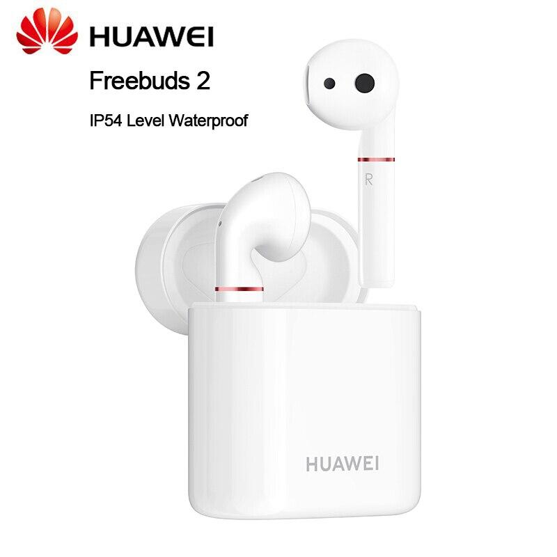 Casque Bluetooth Huawei freebud 2 avec écouteurs étanche à la poussière de niveau IP54 pour Huawei Mate 20 Pro Honor Magic2 V20