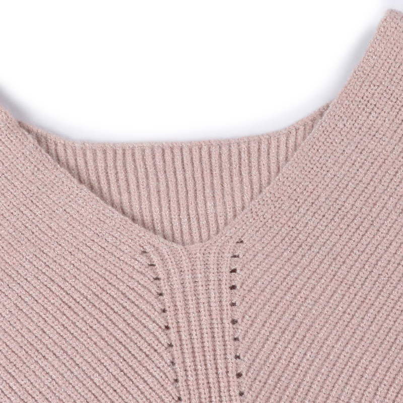 WOTWOY Autumn Winter Knit Pullovers Women Long Sleeve Basic Cashmere Sweater Women Pullover Knitted Casual Blue Female Jumper 7