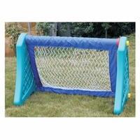 Игрушка открытой площадки, детский сад спортивный инвентарь Футбол ворота, Пластик резиновая Футбол стойки, синий Футбол двери