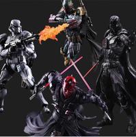 Star Wars Hành Động Hình Play Arts Kai Boba Fett Darth Vader Stormtrooper Maul Mô Hình Đồ Chơi PLAY ARTS Star Wars Playarts búp bê