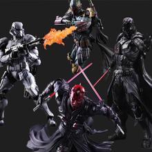 Star Wars Action Figure Play Arts Kai Boba Fett Darth Vader