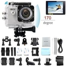 RICH FHD 1080P Action Camera 170 2.0 inch Sport Cam go Waterproof pro Outdoor sports DV WIFI Mini Self Stick Video Photograph