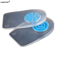 Pads Gel Cushions Heel Inserts Shoe Liners Removable Shoe Pad Shock Absorbing Insoles Heel Spur Accessoire