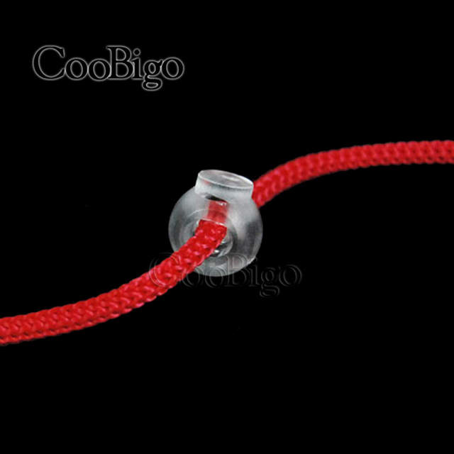 2b685061e9e1 15pcs Cord Lock Round Ball Stopper Mixed Colors Toggle Clip Transparent  Clear Frost Shoe Lace Outdoor Backpack Bag Parts