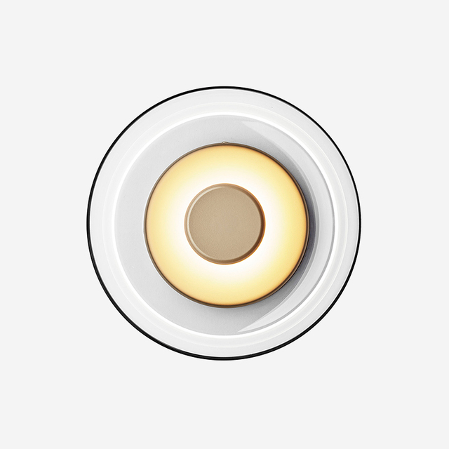 Светодиодный стеклянный настенный светильник в стиле постмодерн, лампа в стиле лофт для спальни, прикроватного столика, столовой, кабинета, декоративные осветительные приборы
