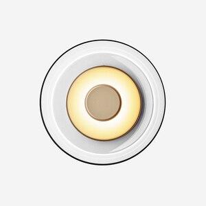 Image 1 - Pós moderna loft vidro conduziu a lâmpada de parede itália designer tigela quarto cabeceira sala jantar estudo decro luminárias frete grátis