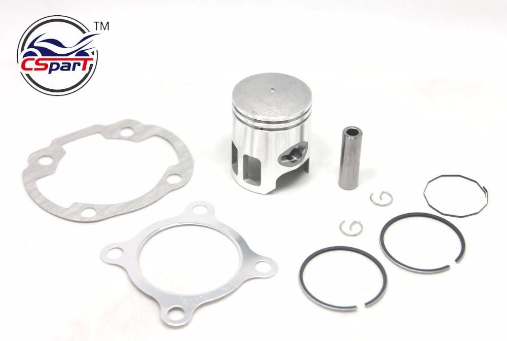 40MM 12MM Piston Ring Kit For Keeway CPI ZIP JOG 50 3KJ 50CC 2 stroke Minarelli 1E40QMB JOG50 LS49 Hurricane F-act Matrix B08