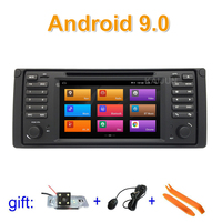 IPS screen Android 9 Car DVD Stereo Radio Player GPS for BMW E39 with WiFi BT