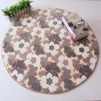 New Kitchen Mat Round Carpet Cushion Basket Chair Bedroom Living Room Computer Pad Thickening Household Antiskid
