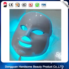 7 colors Light Therapy Acupoint Stimulating Rejuvenation Facial Neck Skincare LED Mask for Home Use