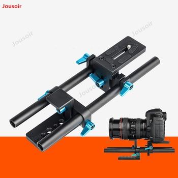 Aluminum Alloy gimbal Bracket SLR camera video support cloud platform track shooting stable bracket CD50 T03