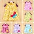 Roupas de bebê verão 2016 girlsdress bebe vestidos de bebê recém-nascido roupas de menina vestidos frock designs