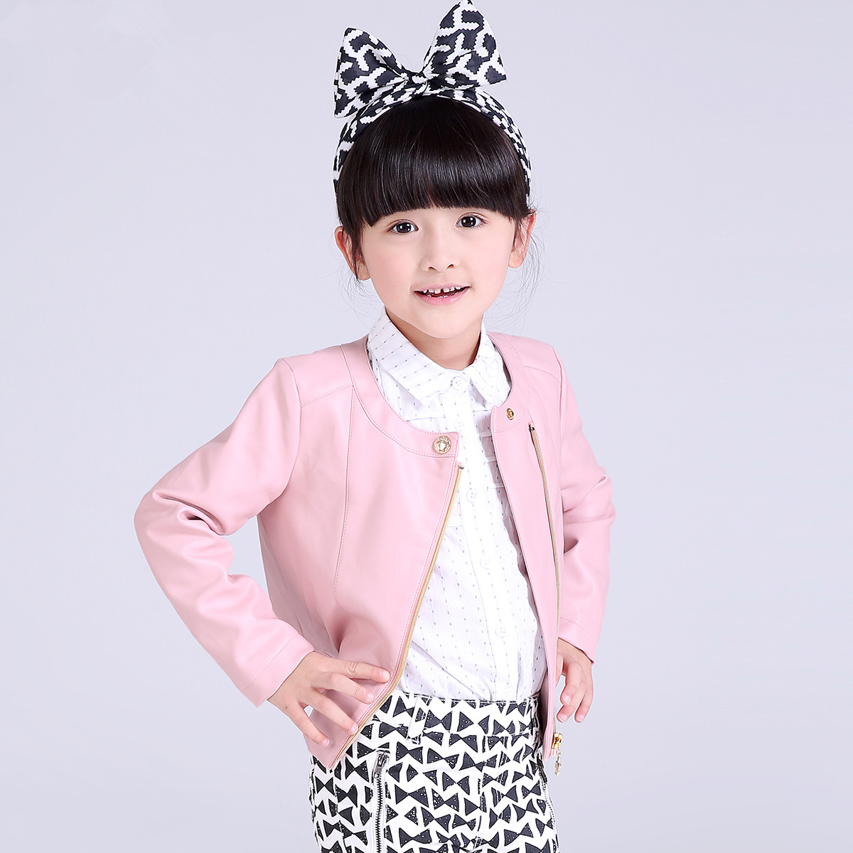 Leather jackets for kids - New 2017 Spring Baby Girls Clothes Children Clothing Leisure Coats And Jackets Fashion Leather Jacket Kids