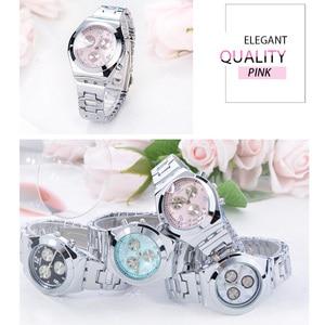 Image 4 - Longbo vip リンク女性のドレスクォーツ腕時計女性の有名な高級ブランド石英腕時計レロジオ feminino montre ファム 2020 新しい