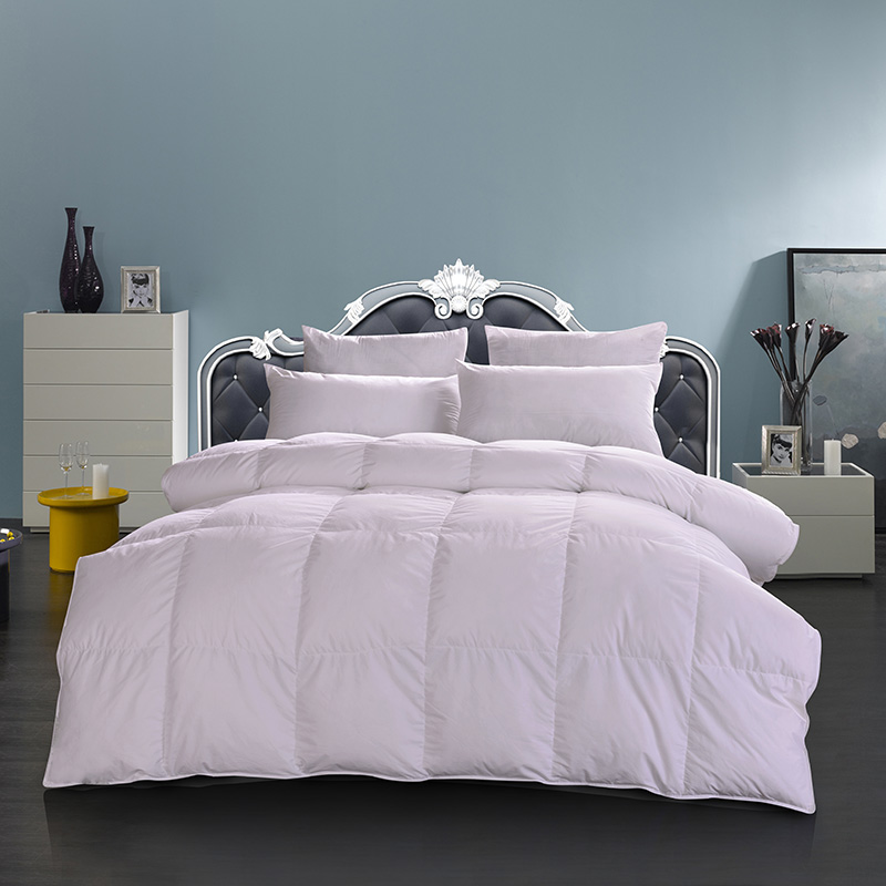 750 fill power white goose feather down duvet quilt comforter70 white goose down