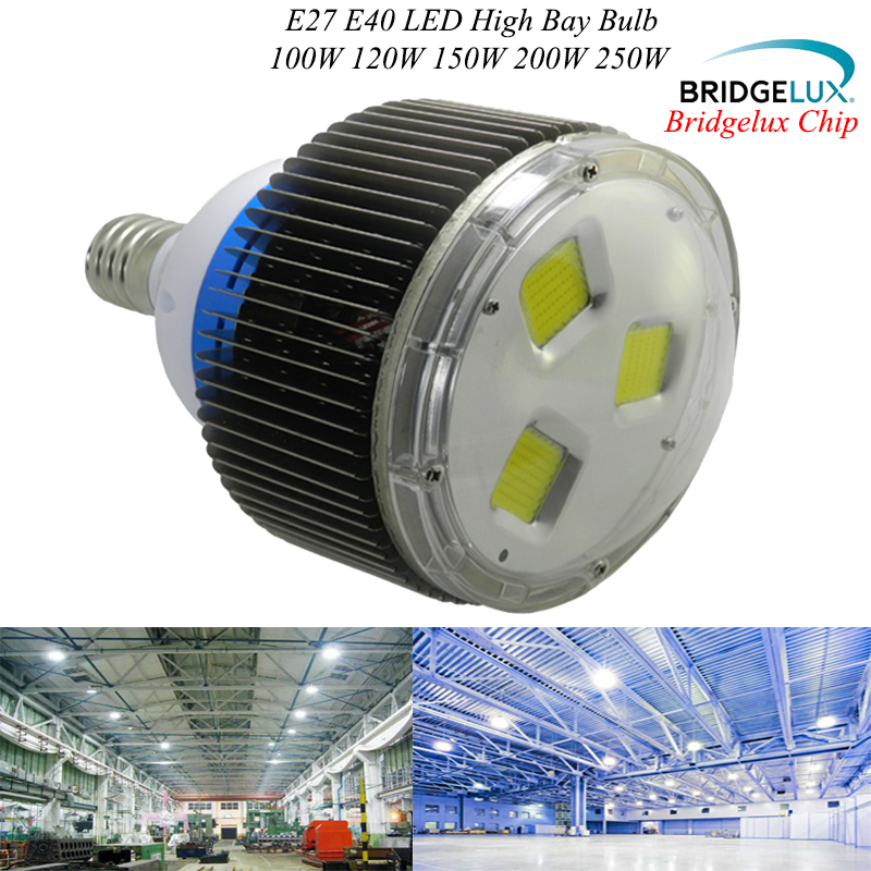 100w 120w 150w 200w 250w Led High Bay Light Factory Workshop Warehouse Exhibition hall Stadium Shipyard Mine Gas station omto r7s led corn 20w light 2835 smd 189mm 144leds ac85 265v