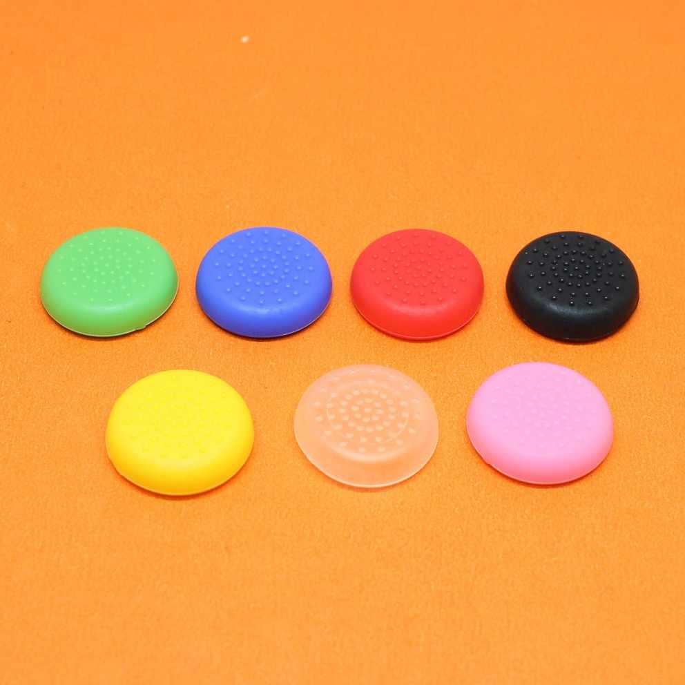 2 adet Oyun Aksesuarları TPU Analog PS4 Denetleyici Kapak Cilt Sopa kap Sapları Joystick Caps Kılıf Sony PlayStation 4 konsol