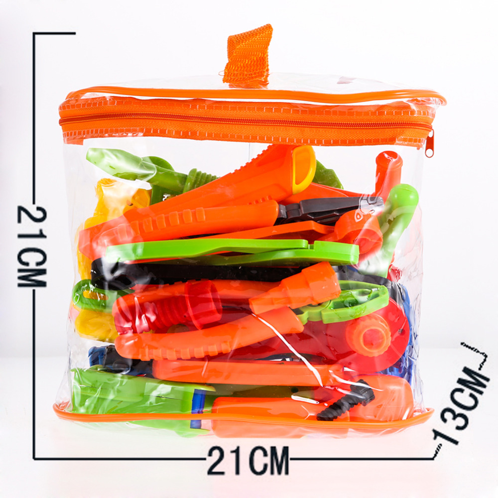 Global Drone 32-project Repair Tools Toy Set Pretend Play Plastic Classic Gardening Tool Toy Instruments Toy Kit Tools for Kids