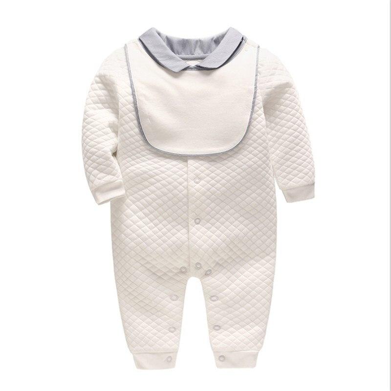 Enfants NewBaby garçon tricot à manches longues barboteuse hommes et femmes bébé fille vêtements mignon coton combinaison nouveau-né bébé Onesies minuscules cotons