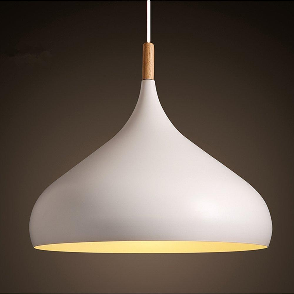 1pcs LED pendant lights modern white metal pendant light shades lighting lampshade|Pendant Lights| |  - title=