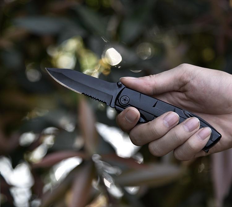 pier ajustar chave de fenda faca dobrável
