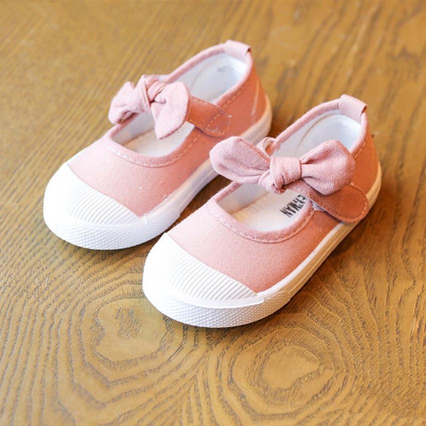 BOKEN Kids Baby Girl Dorywczo Brezentowych Butów Dzieci Miękkich - Obuwie dziecięce - Zdjęcie 2