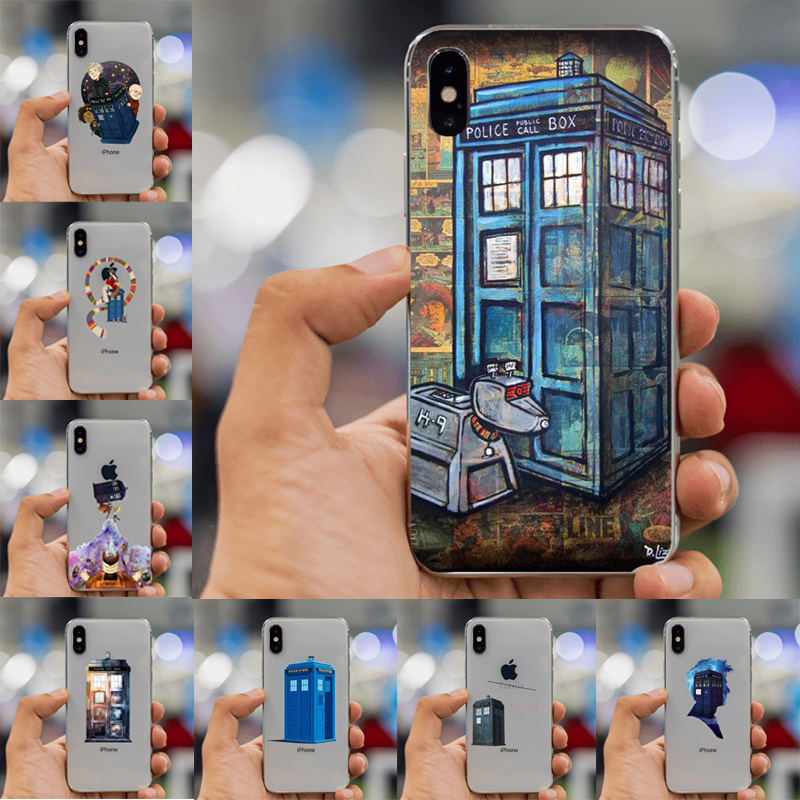 Sporting Coque Doctor Who Tardis Clear Soft Silicone Phone Case For Iphone Xs Max Xr X 7 8 6 6s Plus 5s 5 Se 5c 4s 4 Ipod Touch 6 5 Cover Fitted Cases