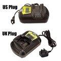 DCB105 DCB120 DCB203 DCB200 DCB180 DCB181 DCB201 DCB204 Cargador Para DEWALT DCB182 12 V-20 V Voltaje de batería de Li-ion cargador T0.4