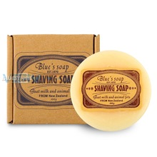100g Goat Milk Men Bead Shaving Saippua Cream vaahtoava partaaseen Razor Barber Salon Tool