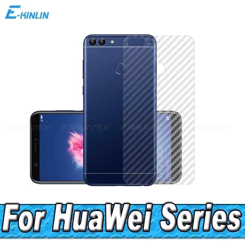 3D углеродного волокна сзади Экран протектор для HuaWei GR5 2017 P Smart Maimang 6 5 задняя крышка Защитная пленка (Не Стекло) ...