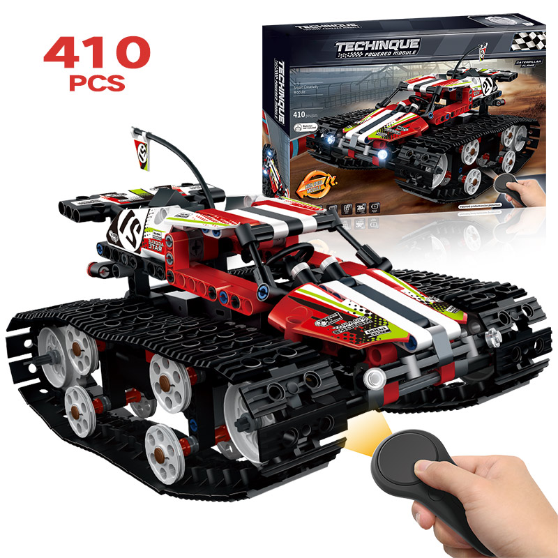 2 Styles Technic RC TRACKED RACER Car Electric Motor Power Function LegoINGLY Technic City Building Block Bricks Model Boys Toys